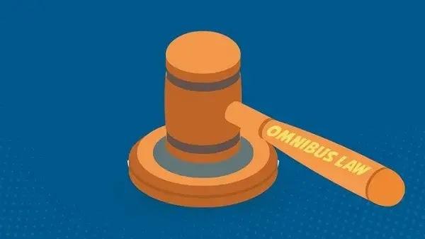 Final Naskah UU Cipta Kerja Sebanyak 1.035 Halaman