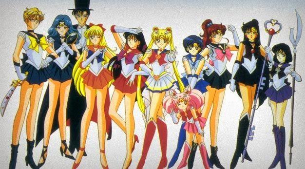 Busty sailor moon anime