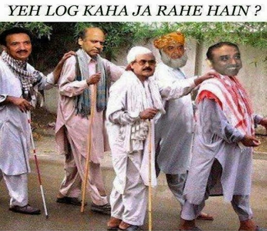 Pakistani Political Leader Group Funny Picture Sharing Is Caring