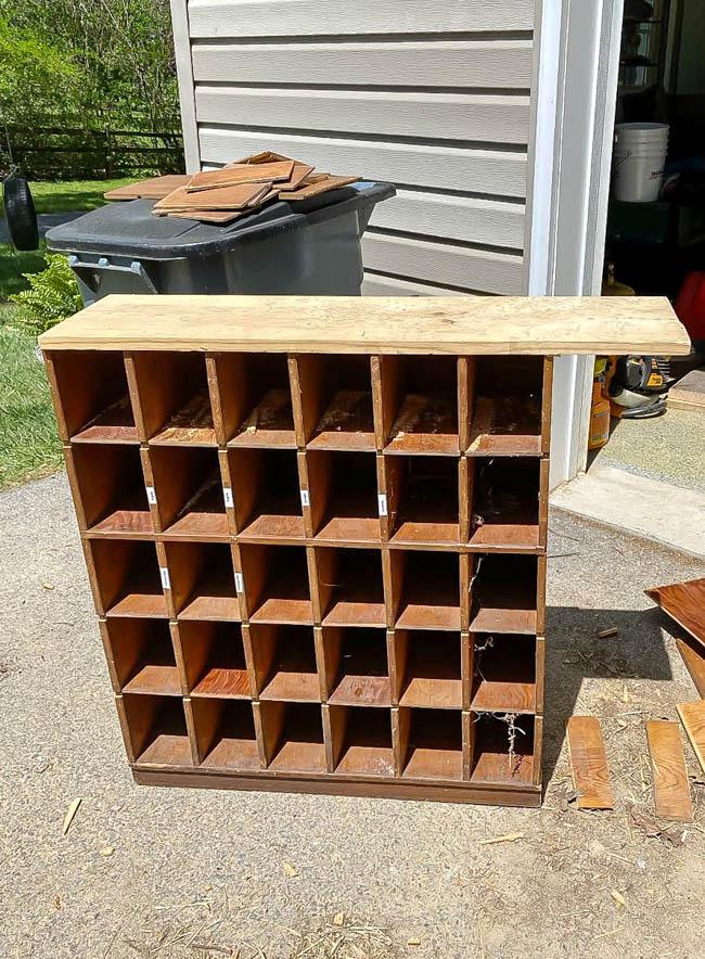 rebuilding free wood cubby