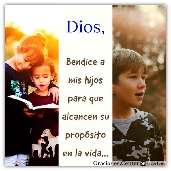 Oración para Bendecir a mis Hijos