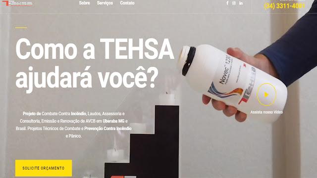 TEHSA Projeto de Incêndio em Uberaba - MG
