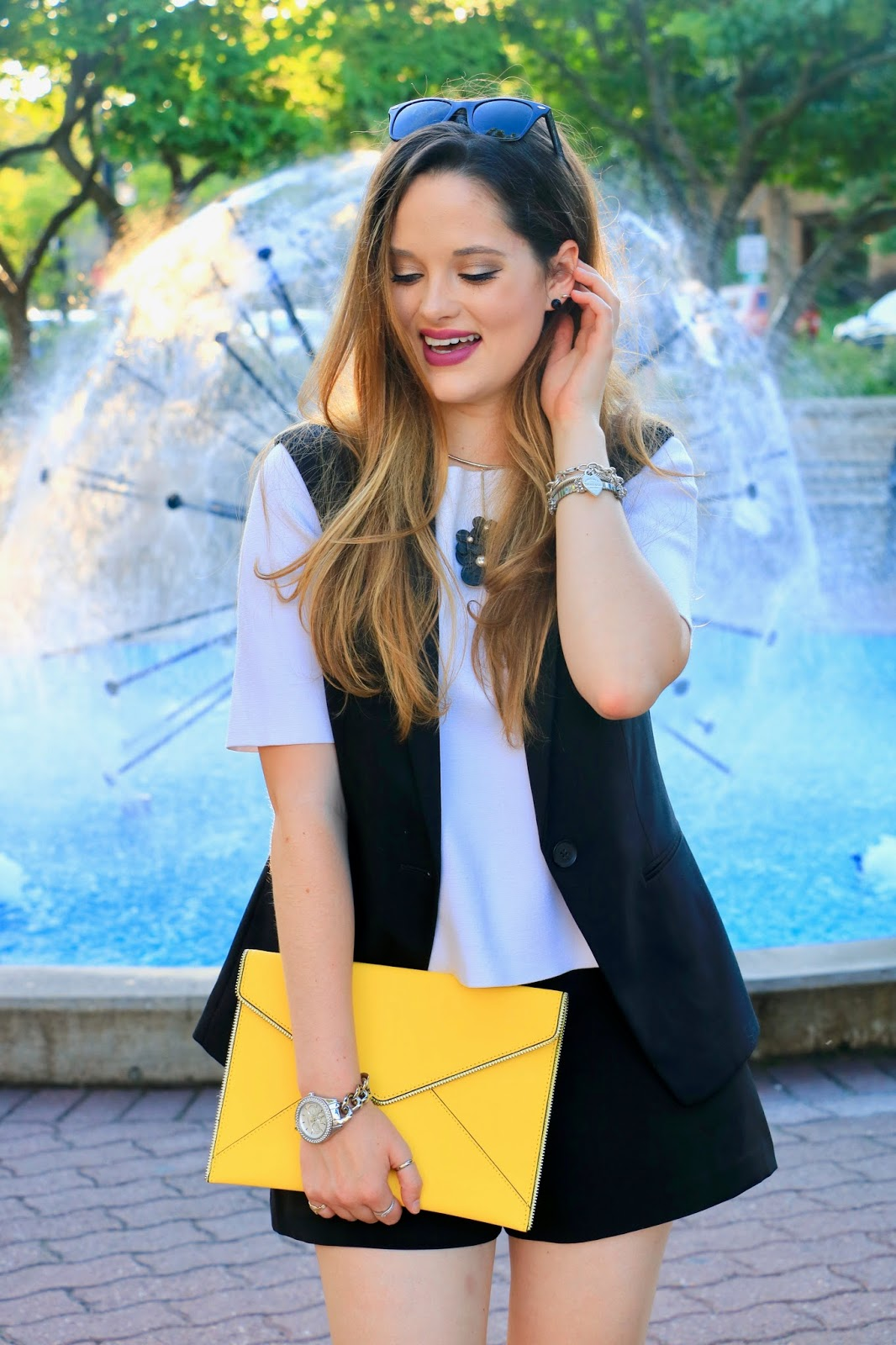 NYC fashion blogger Kathleen Harper of Kat's Fashion Fix summer outfit ideas