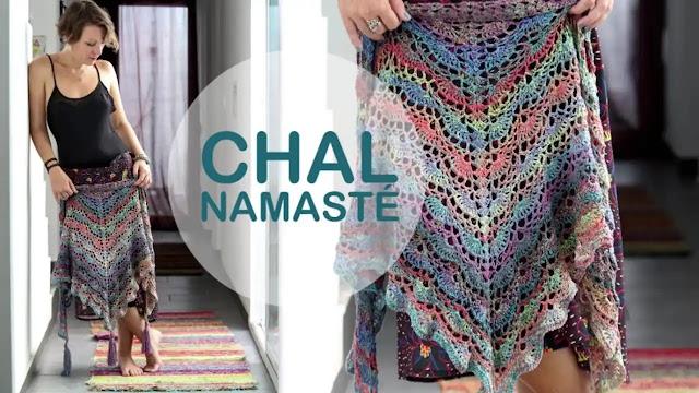 Tutorial Chal Namasté a Crochet Paso a Paso