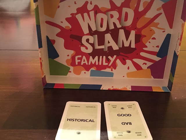 Board Game Review: Word Slam Family - Thames and Kosmos. Photo by Benjamin Kocher