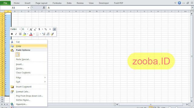 Menggunakan Data Export PDF ZipGrade untuk Analisis Ujian di Excel