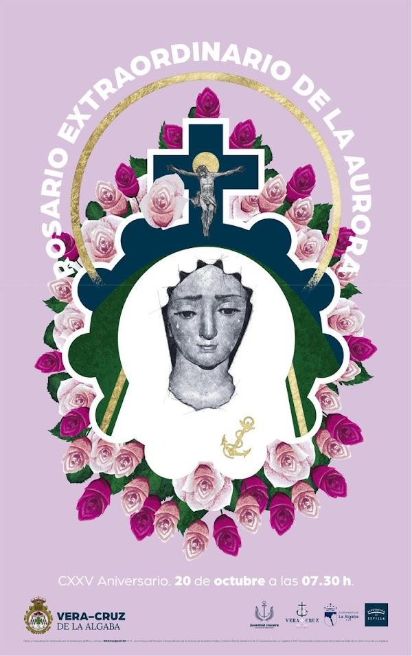 Horario e Itinerario Rosario de la Aurora María Santísima de la Esperanza de La Algaba (Sevilla)