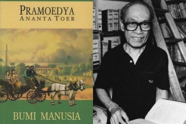 Baca Novel : Bumi Manusia - Pramoedya Ananta Toer