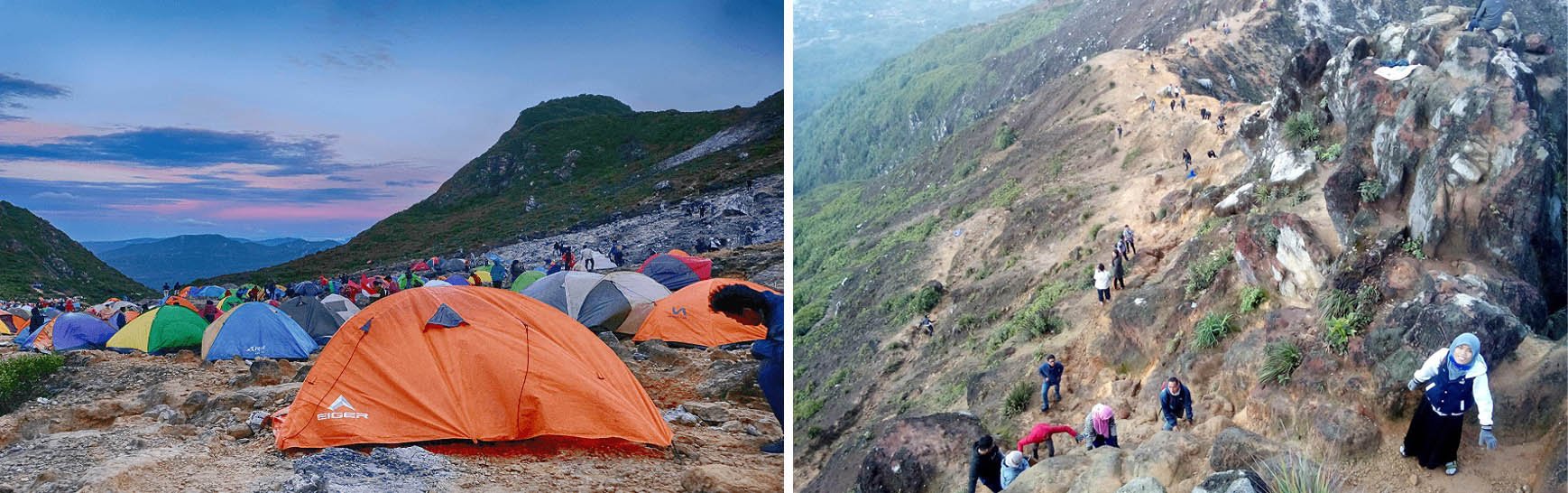Eksplorasi Gunung Sibayak 7 Potret Dan Pemandangan Tiada Duanya Karo Gaul