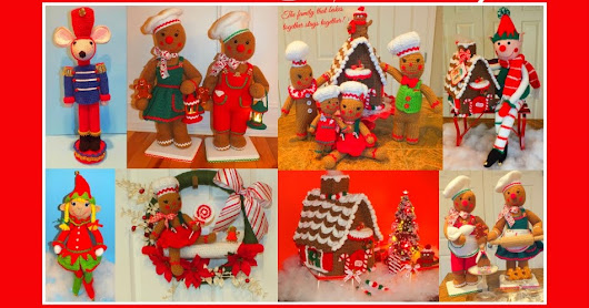 Christmas Crochet Patterns By Connie's Spot©