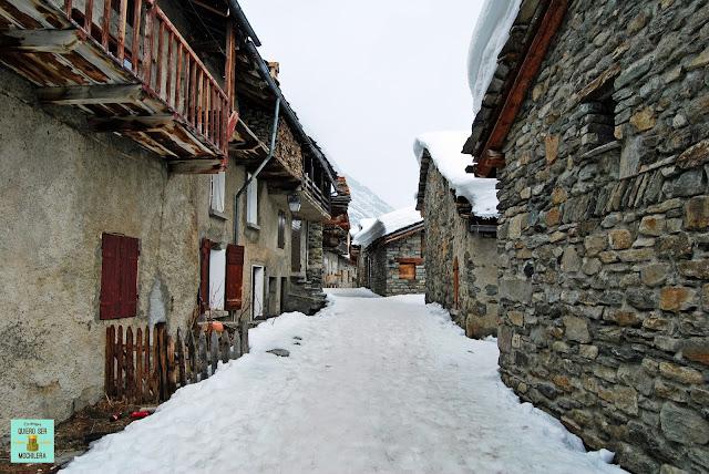Bonneval-sur-Arc, Parque Nacional de la Vanoise (Francia)