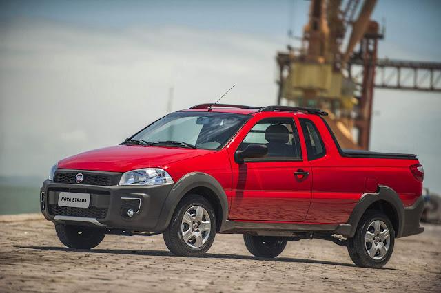 Fiat Strada - comercial leve mais vendido do Brasil em 2018