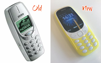 ICONIC NOKIA 3310 RELAUNCH WITH A LONG LASTING BATTERY