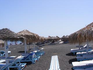Santorini plaja neagra