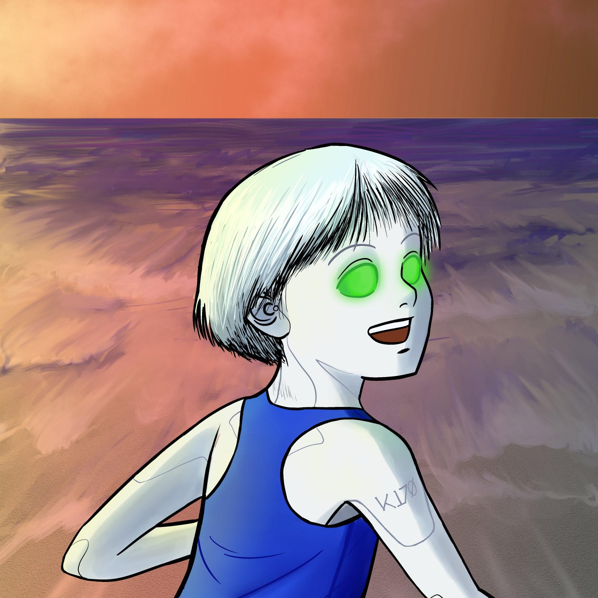 Marisa at the Beach