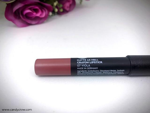 Sugar Matte As Hell Lipstick Viola Review