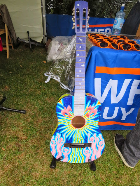 Dublin City Spectacular - Art Guitar at the City SoulPicnic