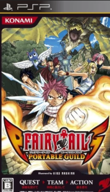 Fairy Tail Portable Guild PPSSPP