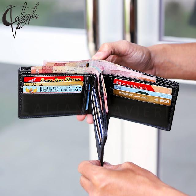 dompet kulit pria 3 dimensi