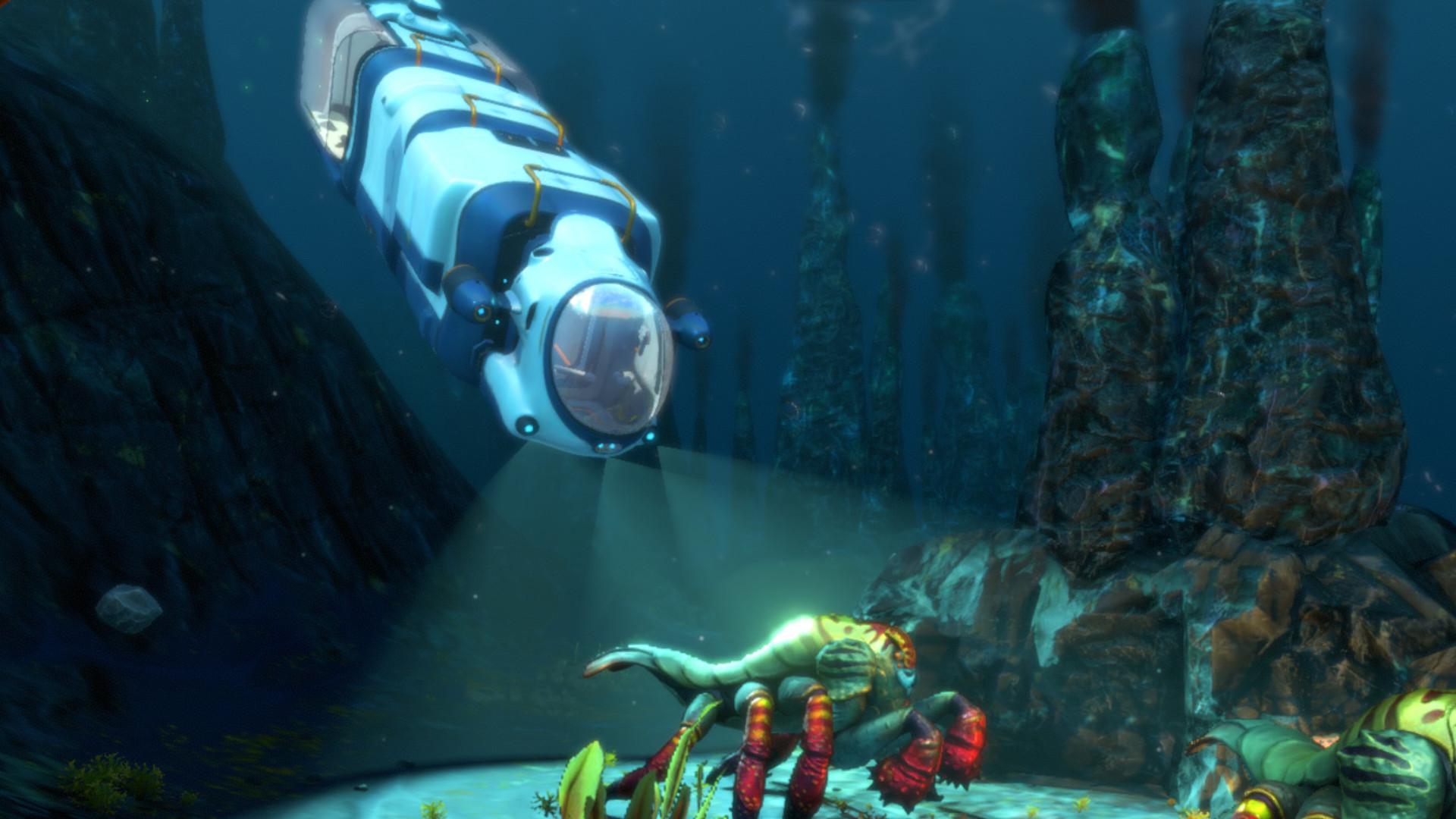Subnautica: Below Zero - How to unlock a blueprint and build a Shrimp suit?