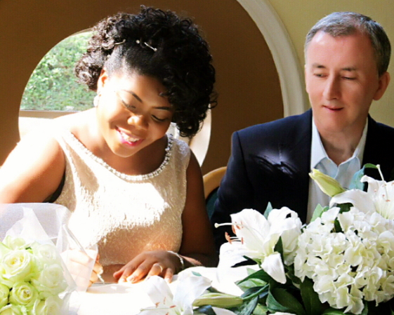 igbo actress married white man