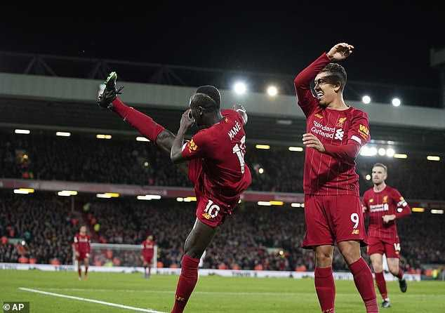 'Best Ever': Liverpool Fans React To Mane And Firmino's Kung Fu Kick Goal Celebration (Video)
