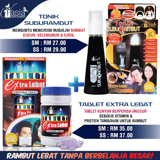 Tablet Extra Lebat V'asia