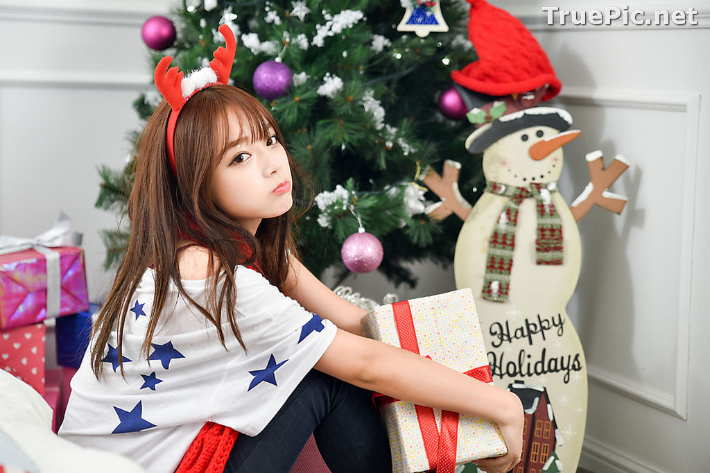Image Korean Beautiful Model – Ji Yeon – My Cute Princess #2 - TruePic.net - Picture-4
