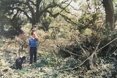 Family Photo from Madisonville, Louisiana after Hurricane Katrina