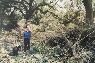 Family Photo from Madisonville, Louisiana after Hurricane Katrina