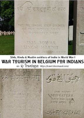 World War Graves of Indian Soldiers in Belgium Pinterest