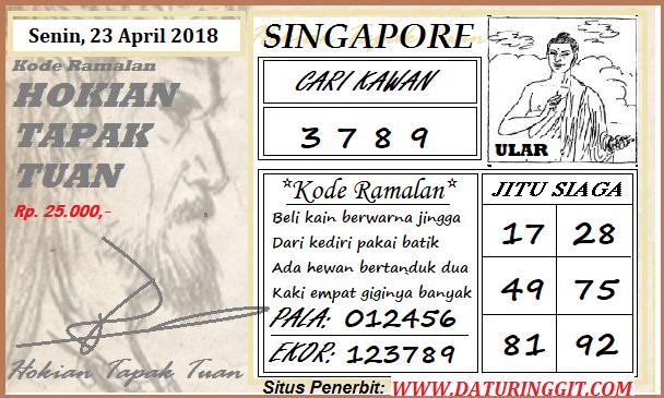Prediksi Togel Singapura Senin