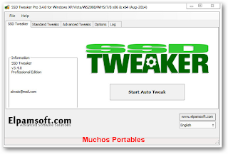SSD Tweaker Pro v Portable