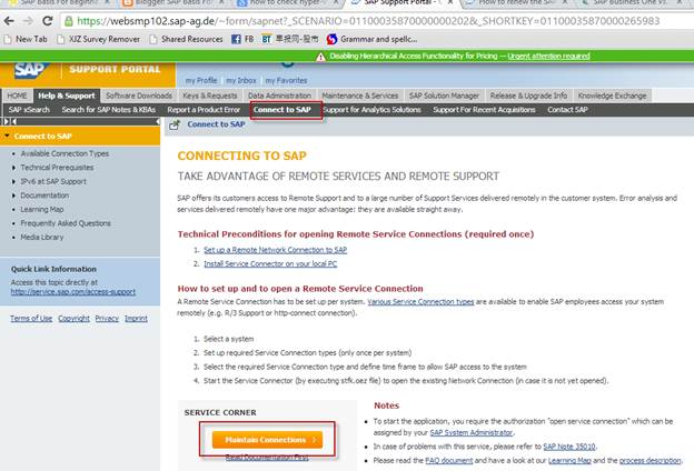 SAP Basis For Beginner: How to open SAP system connection