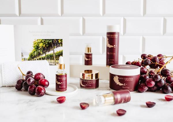 Vitis Cosmetics - polskie naturalne kosmetyki z resweratrolem z winnicy Słoneczny Zakątek