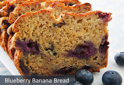 Recipe For Blueberry Banana Bread