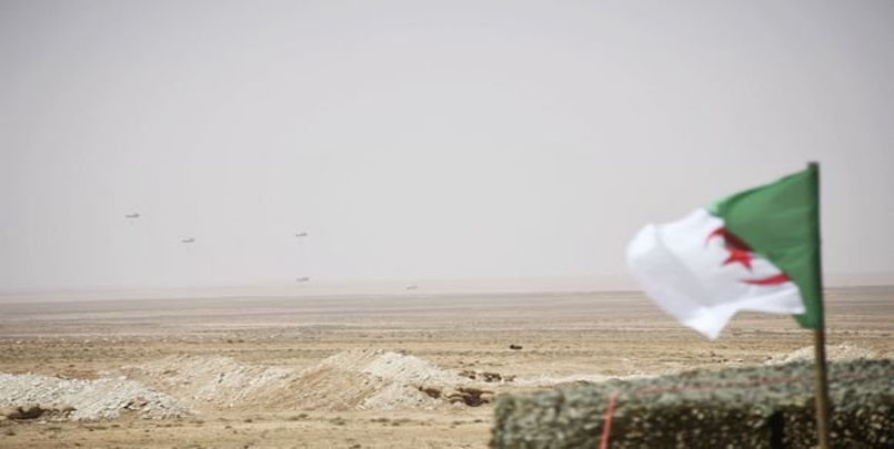 """الجيش الجزائري : تنفيذ تمرين تكتيكي بالذخيرة الحية بعنوان """"رعد"""" 2021+الفريق سعيد شنقريحة+الفرقة الثامنة المدرعة+اللواء 38 مشاة ميكانيكية+exercice-tactique-Raad2021"""
