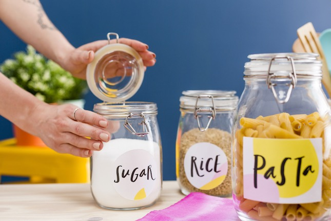 photograph regarding Free Printable Mason Jar Labels Including Blanks. These Are So Pretty named Obtain Individuals Totally free Printable Jar Labels in direction of Arrange Your