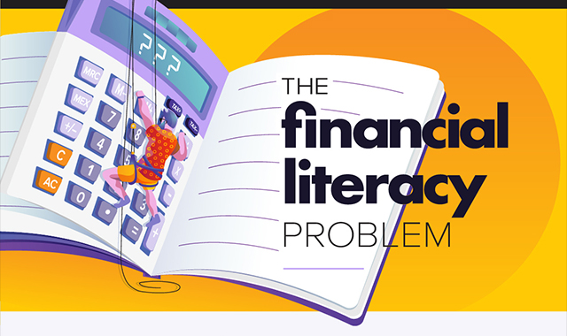 Financial literacy problem #infographic