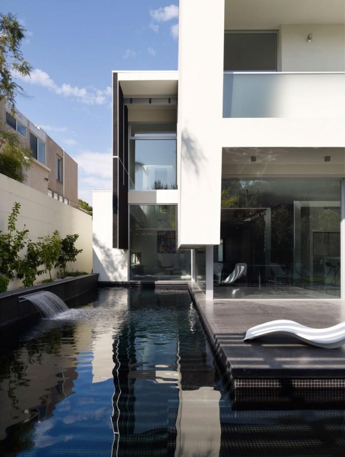Hogares frescos dise o de interiores en casa de dos pisos - Disenos de pisos para interiores ...