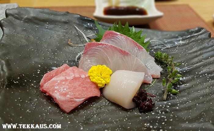 Miyabi Sheraton PJ-Sashimi Omakase Review