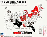 2012-2020 Electoral College Map