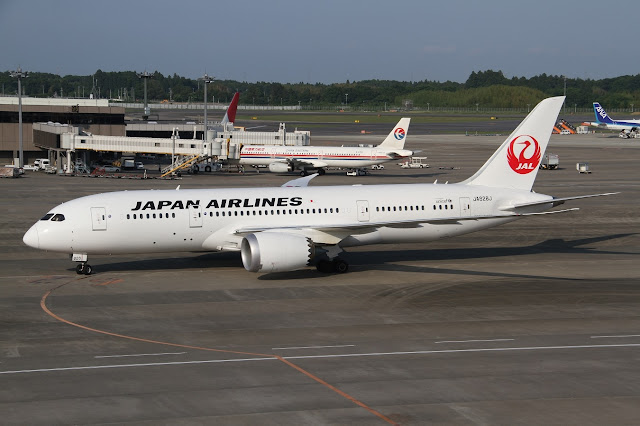 Japan Airlines Boeing 787-8 Dreamliner