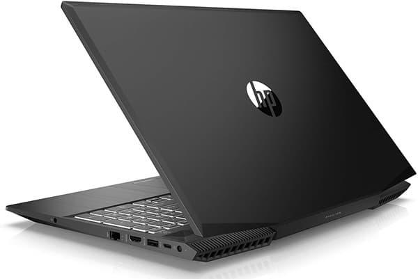 HP Pavilion Gaming 15-cx0001ns: portátil para juegos de 15'' con gráfica GeForce GTX 1050 (4 GB) y teclado QWERTY retroiluminado