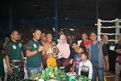 4 Sabuk Emas Tinju Profesional Diperebutkan Dalam HUT TNI Ke-74 Kodim Cilacap