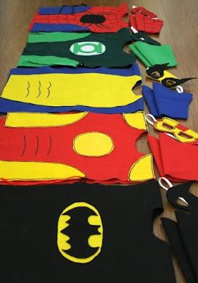 Trajes de superhéroes