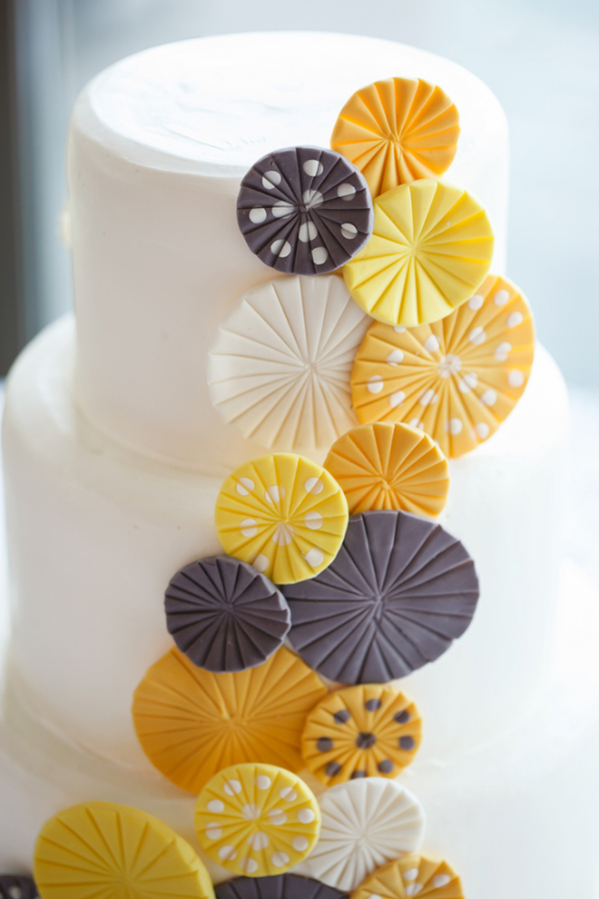 Yellow + Grey Contemporary Wedding in Florida - Belle The Magazine