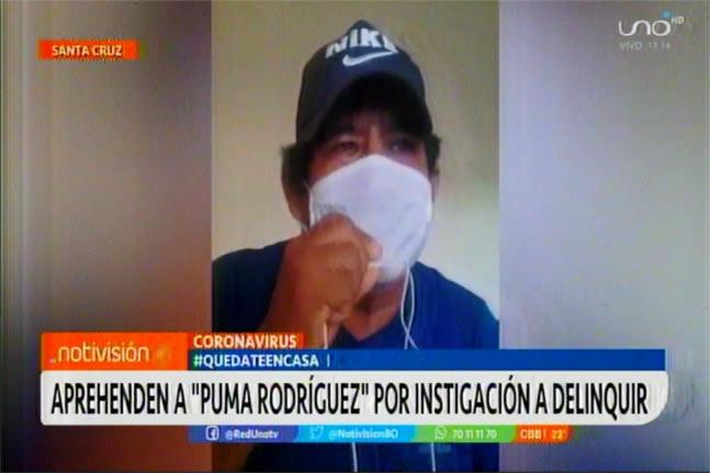 Aprehenden al masista que amenazó a la Presidenta Jeanine Áñez, afirma que lo utilizó un diputado del MAS