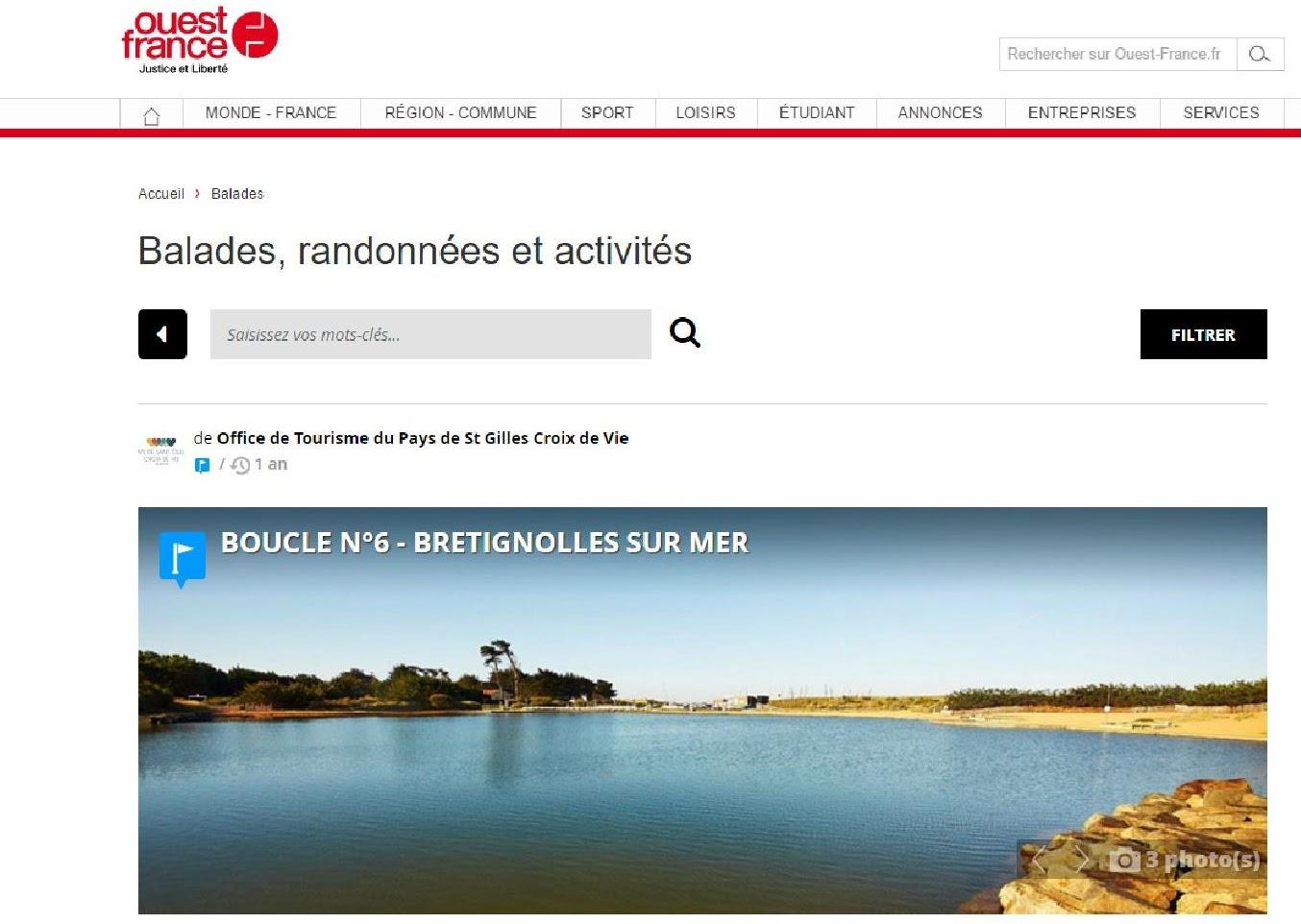 Le blog de surveillance du site de la normandeli re - Office tourisme st gilles croix de vie ...