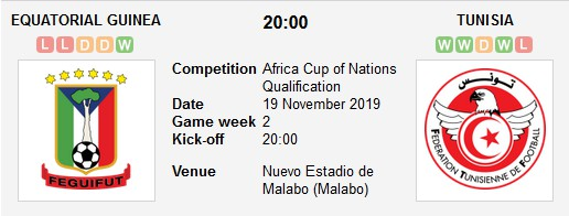 مشاهدة مباراة تونس وغينيا الإستوائية بث مباشر في تصفيات كأس أمم إفريقيا